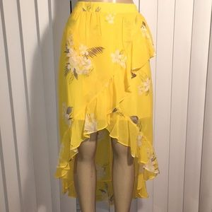 a.n.d.e.a.w.y. Women long skirt color yellowmedium